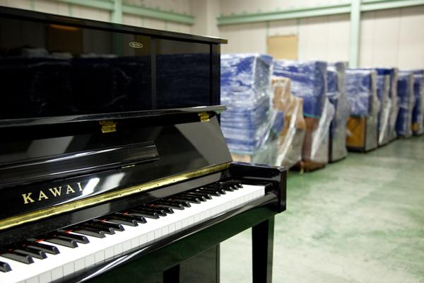 ピアノ保管